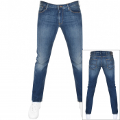 Product Image for Emporio Armani J06 Slim Fit Jeans Blue