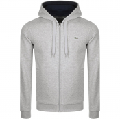 Product Image for Lacoste Sport Full Zip Hoodie Grey