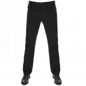 Emporio Armani J21 Regular Fit Stretch Jeans Black