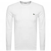 Lacoste Sport Long Sleeved T Shirt White