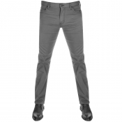 Emporio Armani J45 Regular Fit Jeans Grey