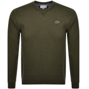 Product Image for Lacoste Sport Crew Neck Sweatshirt Khaki