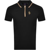 Product Image for Luke 1977 Fools Gold Polo T Shirt Black