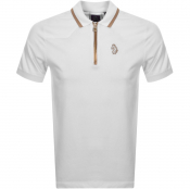 Product Image for Luke 1977 Fools Gold Polo T Shirt White
