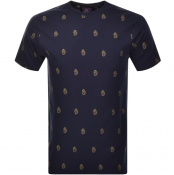 Luke 1977 Marbella T Shirt Navy