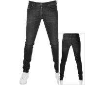 Diesel Sleenker 084AT Jeans Black
