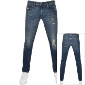 Product Image for Diesel Thommer 083AC Jeans Blue