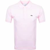 Product Image for Lacoste Short Sleeved Polo T Shirt Pink