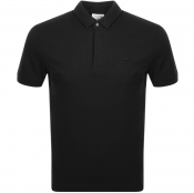 Lacoste Short Sleeved Polo T Shirt Black