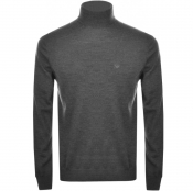 Product Image for Emporio Armani Roll Neck Knit Jumper Grey