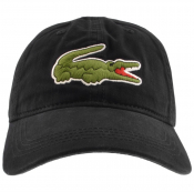 Lacoste Crocodile Cap Black