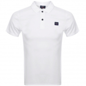 Paul And Shark Short Sleeved Polo T Shirt White