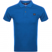 Paul And Shark Short Sleeved Polo T Shirt Blue
