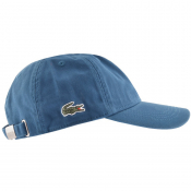 Product Image for Lacoste Side Croc Logo Cap Blue