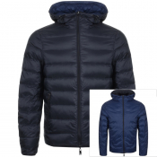 Emporio Armani Reversible Down Jacket Black