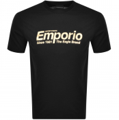 Product Image for Emporio Armani Logo T Shirt Black