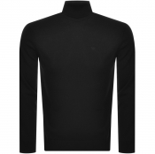 Product Image for Emporio Armani Roll Neck Knit Jumper Black