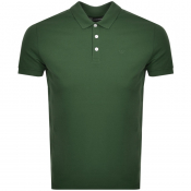 Emporio Armani Short Sleeved Polo T Shirt Green