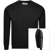 Product Image for Calvin Klein Jeans Logo Crew Neck Sweatshirt Black