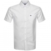 Product Image for Lacoste Short Sleeved Oxford Shirt White