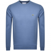 Product Image for Lacoste Logo Sweatshirt Blue