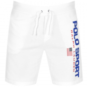 Ralph Lauren Logo Shorts White