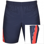 Product Image for Lacoste Sport Taped Shorts Navy