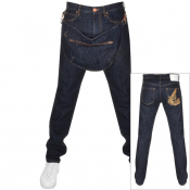 Vivienne Westwood Tapered Jeans With Bag Blue