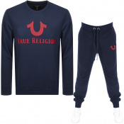 True Religion Tracksuit Navy