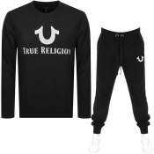True Religion Tracksuit Black