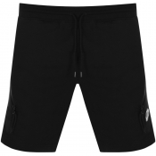 CP Company Goggle Sweat Shorts Black