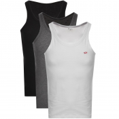 Product Image for Diesel Randal 3 Pack Vest White