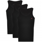 Product Image for Diesel Randal 3 Pack Vest Black