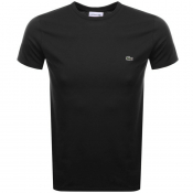 Lacoste Crew Neck T Shirt Black