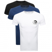 Product Image for Diesel Randal 3 Pack T Shirt Black