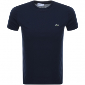 Product Image for Lacoste Crew Neck T Shirt Navy