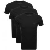 Diesel UMTEE Jake 3 Pack T Shirt Black