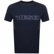 Diesel Jake T Shirt Navy