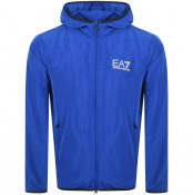 EA7 Emporio Armani Core Hooded Jacket Blue