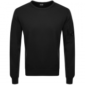 Product Image for CP Company Crew Neck Goggle Sweatshirt Black
