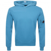 CP Company Goggle Hoodie Blue