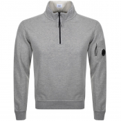 Product Image for CP Company Goggle Half Zip Sweatshirt Grey