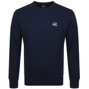 Product Image for CP Company Crew Neck Sweatshirt Navy