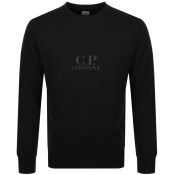Product Image for CP Company Pullover Logo Jacket Black