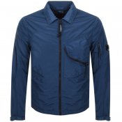 CP Company Overshirt Jacket Blue
