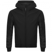 Product Image for CP Company Soft Shell Padded Jacket Black