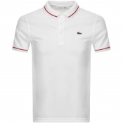 Lacoste Sport Ultra Dry Polo T Shirt White