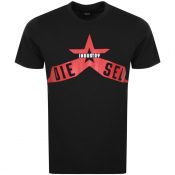 Product Image for Diesel T Diego A7 T Shirt Black
