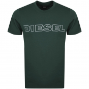 Diesel Jake T Shirt Green