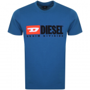 Product Image for Diesel T Just Division T Shirt Blue